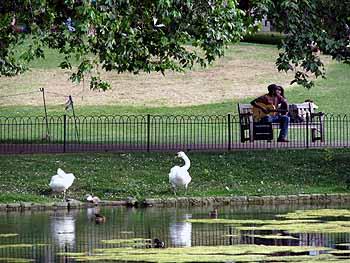 Сейнт Джеймс Парк, Лондон, Великобритания
