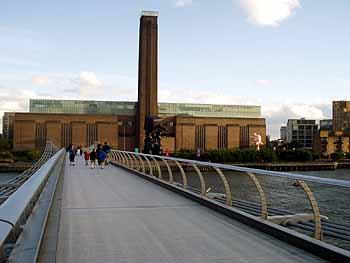 Здание Современной Галереи Тейт, Лондон, Великобритания