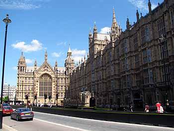 Здания Парламента в Лондоне
