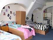 Общежитие, спальня для девочек